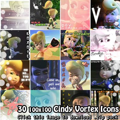 Cindy Vortex icons