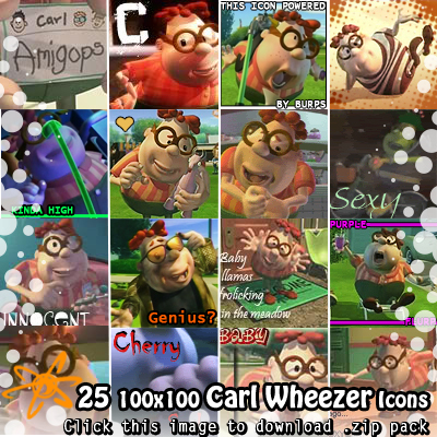 Carl Wheezer icons