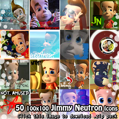 Jimmy Neutron Icons