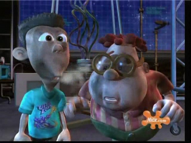 Sheen and Carl in an experiment gone awry